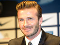 The Hollywood actor is filming in the UK and offers Beckham the use of his plane.