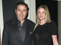 Lara Stone's spokesperson confirms news that couple have welcomed their first child.