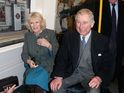 Prince Charles and the Duchess of Cornwall travel on a Tube for three minutes.