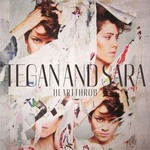 Tegan and Sara 'Heartthrob' artwork