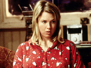 Screenshot of Renee Zellweger as Bridget Jones in Bridget Jones: The Movie