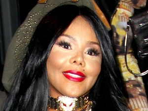 Lil Kim Spotted in West Hollywood