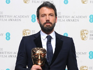 BAFTA 2013: Ben Affleck with the award for Best Film for 'Argo'.