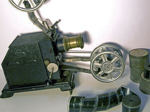 20th century home 35mm film projector (AK brand)