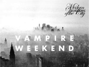 Vampire Weekend: 'Modern Vampires Of The City' artwork