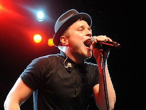 Olly Murs performing live on stage at Irving Plaza in New York on January 24, 2013.