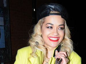 Rita Ora and friends pictured on a night out at the O2 Sheperd's Bush Empire and Mahiki nightclub.