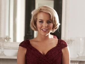 REVEAL ONLY miss Mode: Lydia Bright in Reveal photoshoot