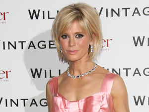 Emilia Fox arrives at the BAFTA dinner held at St Pancras Renaissance London Hotel.