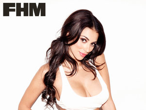 Georgia Salpa helps launch FHM Magazine's annual 100 Sexiest Women in the World poll
