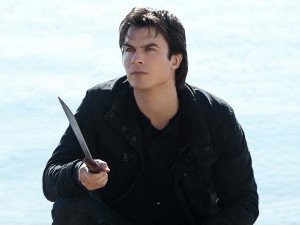 Ian Somerhalder in The Vampire Diaries S04E13 (&#39;Into The Wild&#39;) as Damon