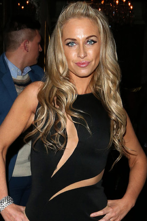Josie Gibson celebrates her birthday at Cafe de Paris nightclub Featuring: Josie Gibson