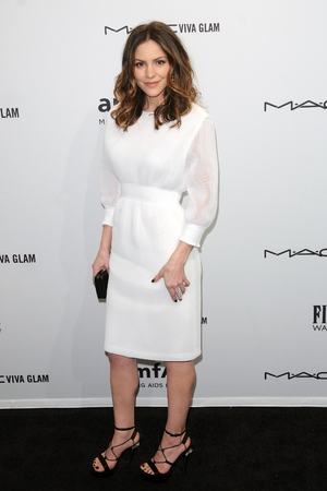 Celebrities attend the amfAR gala held at Cipriani Wall Street Featuring: Katharine McPhee Where: New York City , New York , United States When: 06 Feb 2013