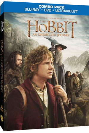 'The Hobbit: An Unexpected Journey' Blu-Ray pack shot