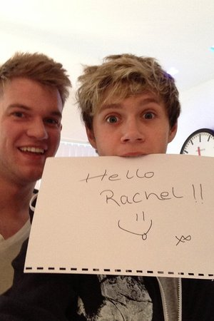 One Direction's Niall Horan flirts with Rachel Shenton