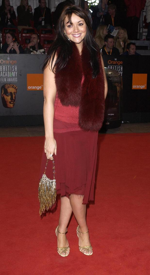 Martine McCutcheon, BAFTA 2004