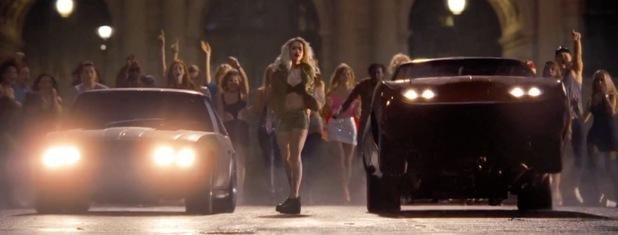 Rita Ora in 'Fast & Furious 6'