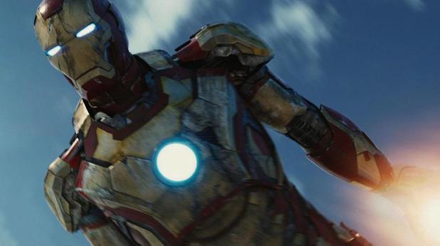 Tony Stark in 'Iron Man 3'
