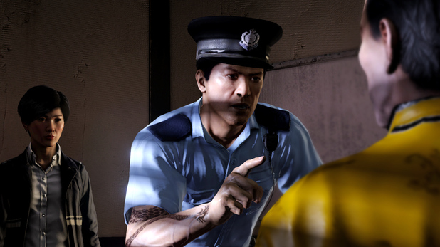 &#39;Sleeping Dogs&#39; DLC Year of the Snake screenshot