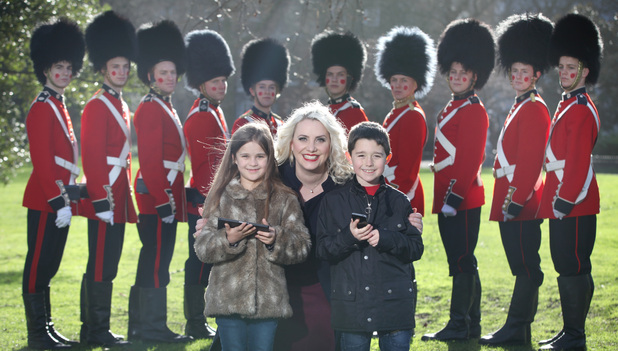 Steps member Claire Richards supports Homesafe from TalkTalk on 10th Anniversary of Safer Internet Day
