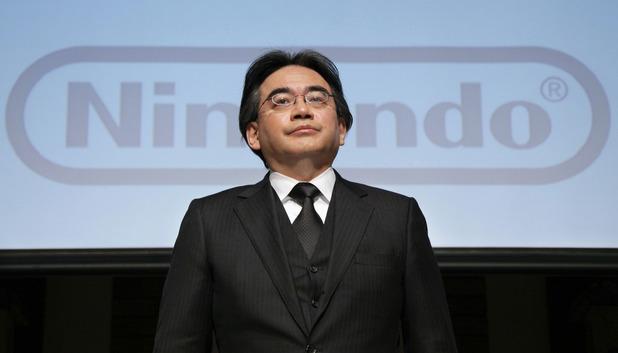 Nintendo Co. President Satoru Iwata
