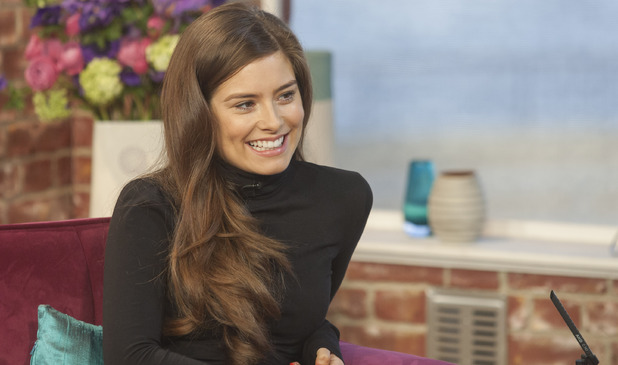 Hollyoaks actress Rachel Shenton appears on 'This Morning'