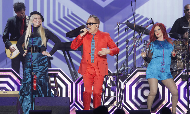 The B-52s perform at the TV Land Awards 2012