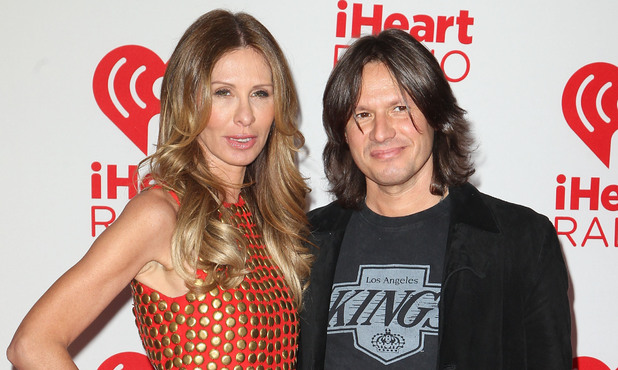 Carole Radziwill and Russ Irwin together at the 2012 iHeart Radio Music Festival in Las Vegas