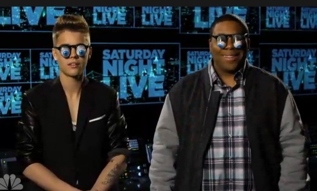 Justin Bieber and Kenan Thompson promotional video for Saturday Night Live