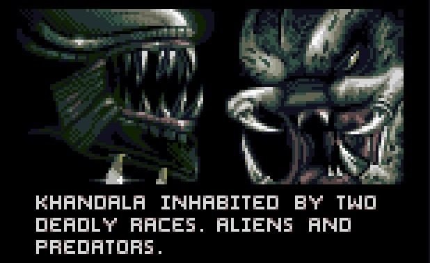 'Alien Vs Predator' Atari Jaguar screenshot