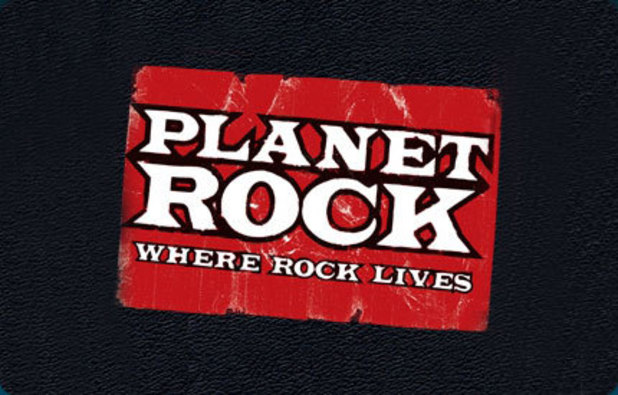 Planet Rock radio logo