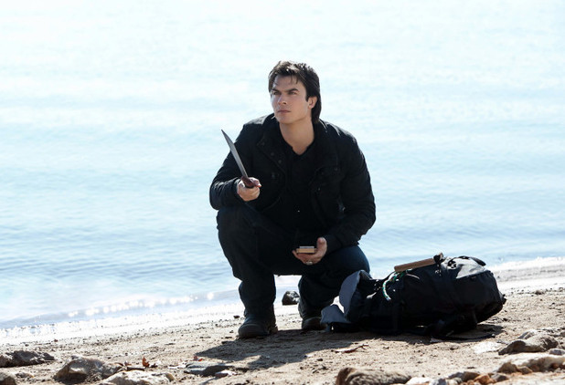 Ian Somerhalder in The Vampire Diaries S04E13 ('Into The Wild') as Damon