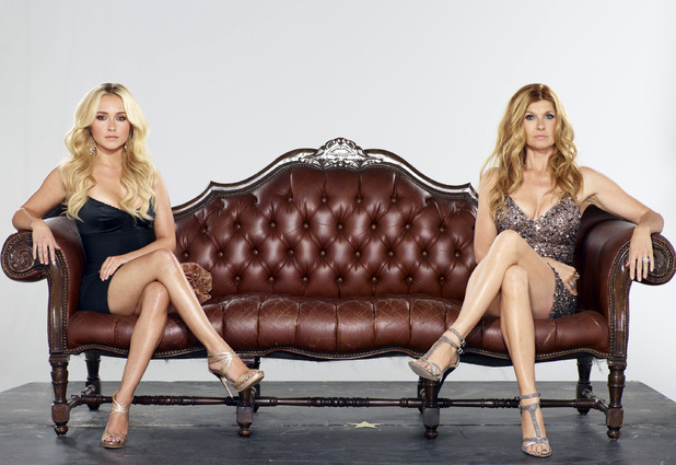 Hayden Panettiere and Connie Britton
