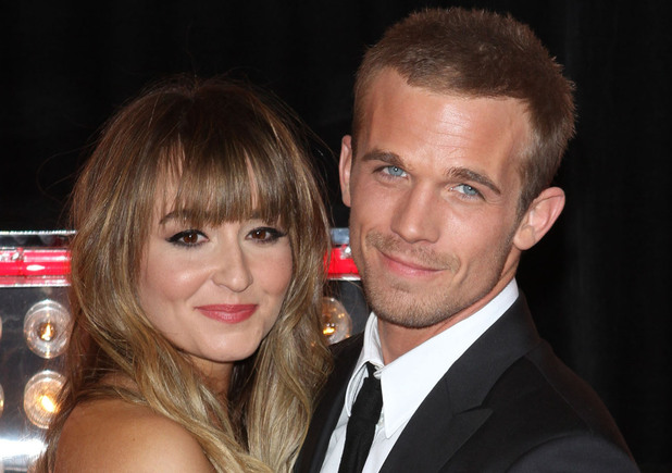 Cam Gigandet and Girlfriend Dominique Geisendorff