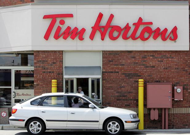 Tim Hortons drive-thru