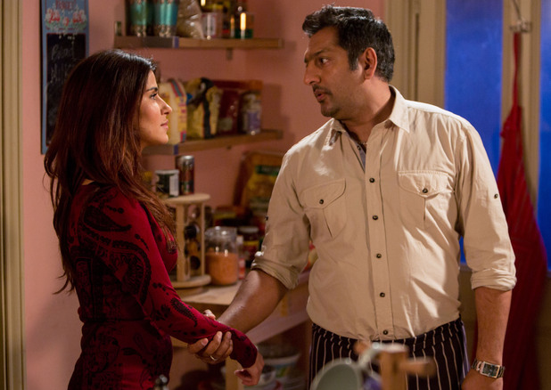 Masood tells Ayesha to leave.