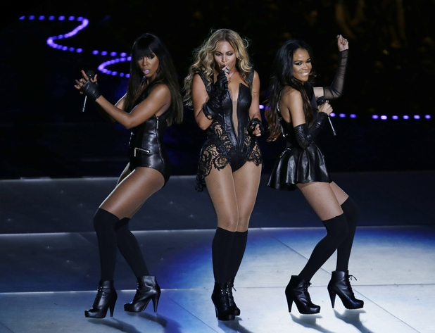 Beyoncé and Destiny's Child, Super Bowl half-time show