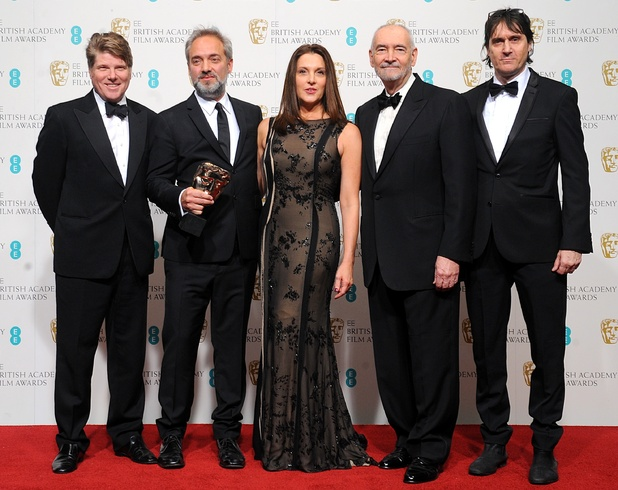 Robert Wade, Sam Mendes, Barbara Broccoli, Michael G Wilson and Neal Purvis