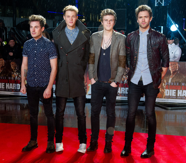 A Good Day To Die Hard UK premiere: Lawson