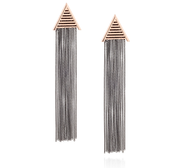 Florence + the Machine 'Flotique' jewellery collection - 'A' drop earrings