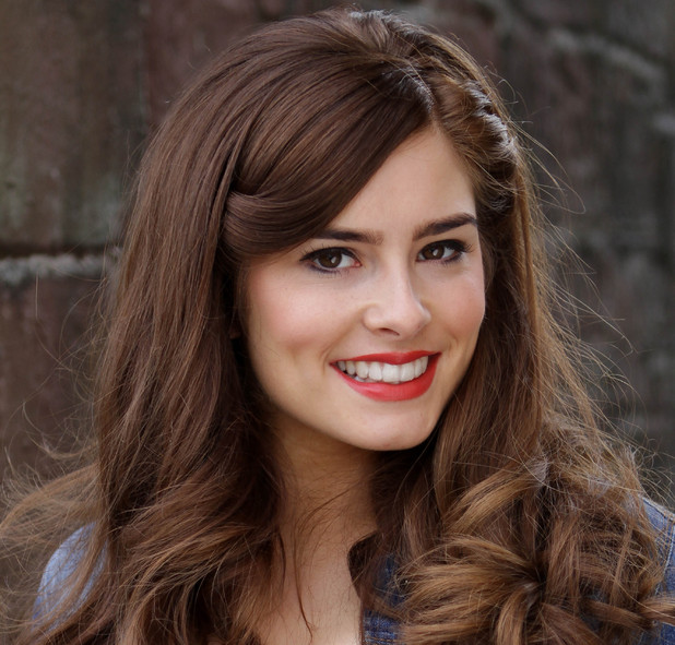 Rachel Shenton as Mitzeee Minniver in Hollyoaks