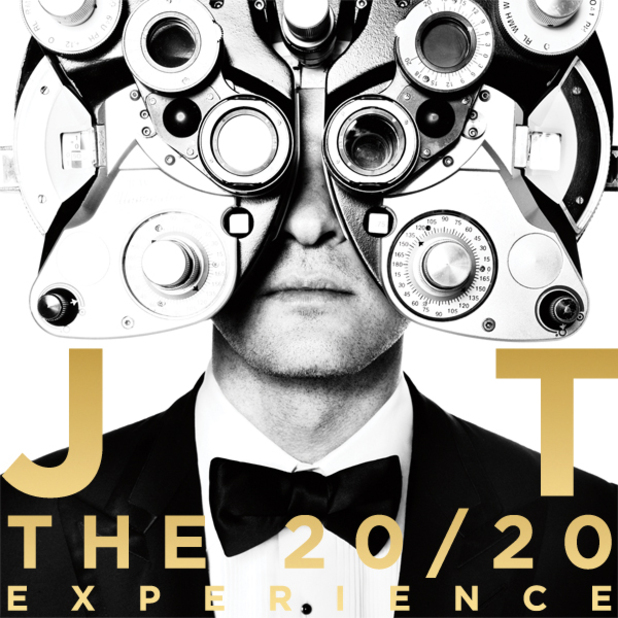 Justin Timberlake artwork for The 20/20 Experience