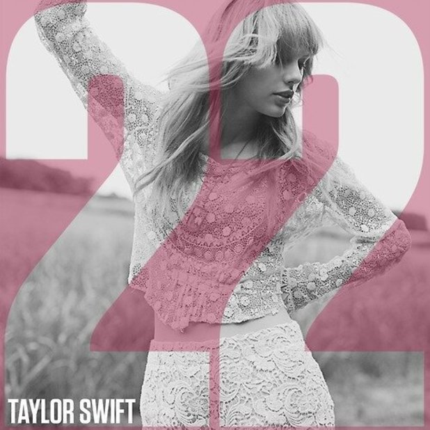 Taylor Swift '22' single artwork.
