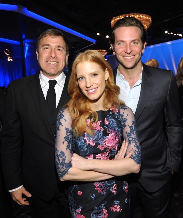 David O Russell, Jessica Chastain, Bradley Cooper