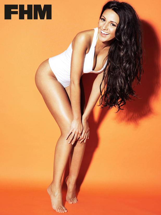 Michelle Keegan photo shoot for FHM magazine
