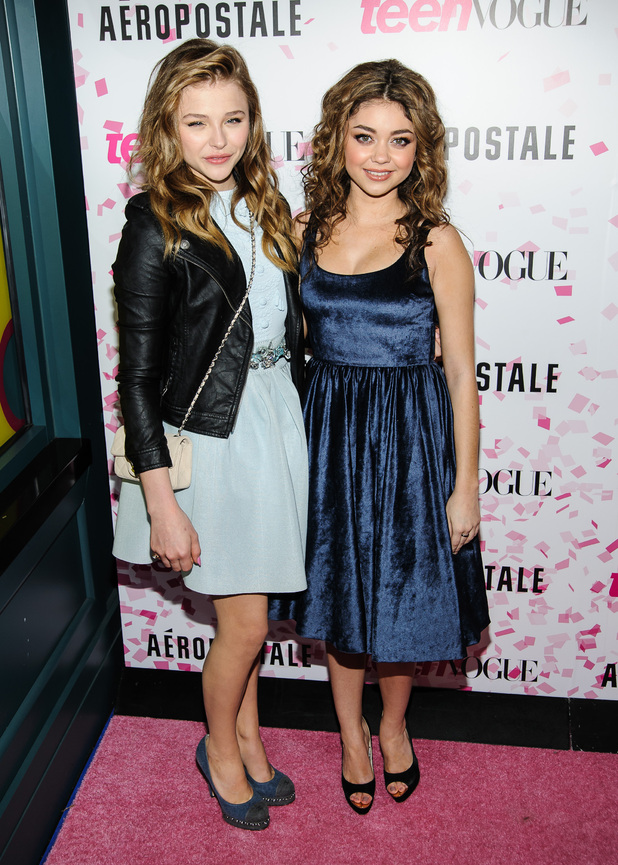 Chloe Moretz, Sarah Hyland, Teen Vogue 10th Anniversary And Chloe Grace Moretz Sweet 16 Celebration