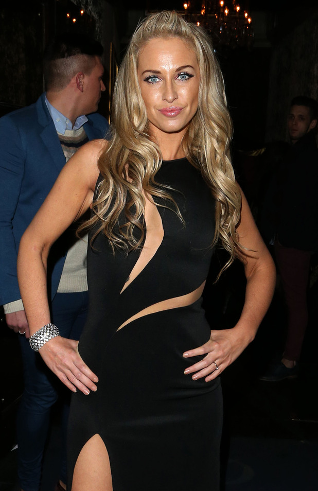 Josie Gibson celebrates her birthday at Cafe de Paris nightclub