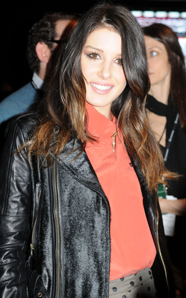 Shenae Grimes at New York Fashion Week 2013.