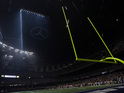 Around half the stadium loses power after Beyoncé half-time show in New Orleans.