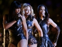 Kelly Rowland and Michelle Williams join Beyoncé at Super Bowl half-time show.